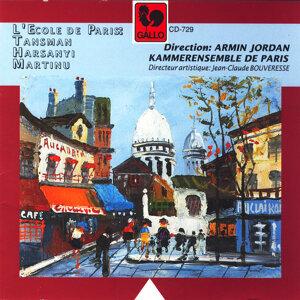 Alexandre Tansman: Septet, Tibor Harsanyi: Nonet, Bohuslav Martinu: Nonet, H. 374 (L'Ecole de Paris)