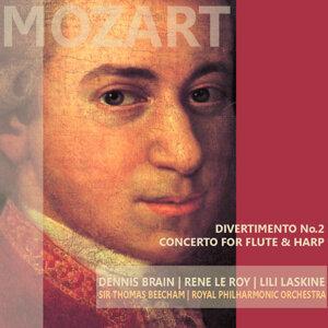 Mozart: Divertimento No. 2 & Concerto for Flute and Harp