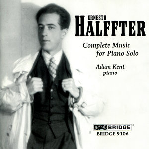 Halffter: Complete Music for Piano Solo