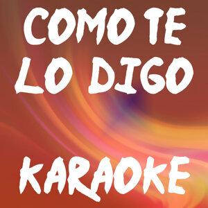 Como te lo digo (Karaoke)