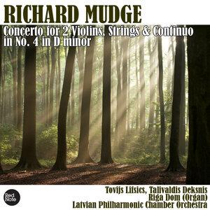 Mudge: Concerto for 2 Violins, Strings & Continuo No. 4 in D minor
