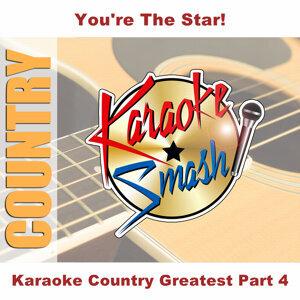 Karaoke Country Greatest Part 4