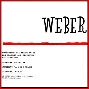 Weber: Concertino For Clarinet In C Minor