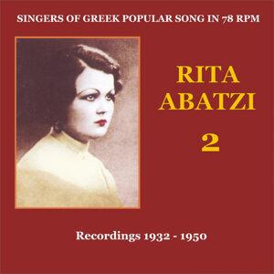 Rita Abatzi Vol. 2: Recordings 1932 - 1950 / Singers of Greek popular song in 78 rpm