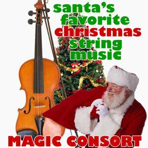 Santa's Favorite Christmas String Music