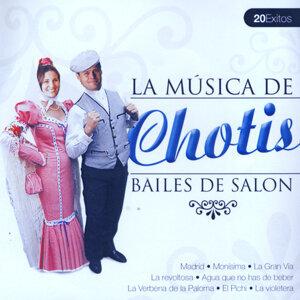 Bailes de Salón Chotis  (Ballroom Dance Chotis)