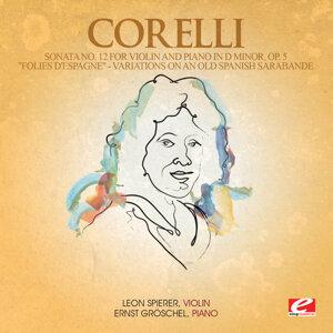 """Corelli: Sonata No. 12 for Violin and Piano in D Minor, Op. 5 """"Folies d'Espagne"""""""