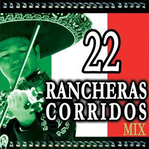 22 Rancheras y Corridos Mix