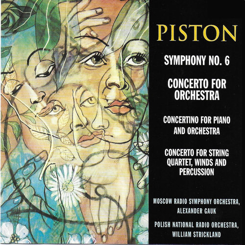 Walter Piston: Works for Orchestra