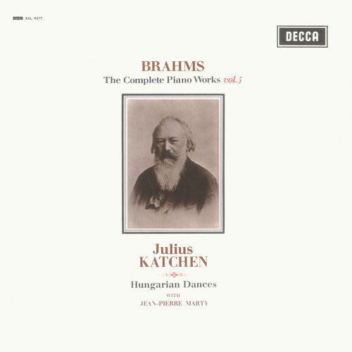 Brahms: Hungarian Dances; Variations on a Theme by Paganini