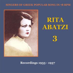 Rita Abatzi Vol. 3: Recordings 1933 - 1937 / Singers of Greek popular song in 78 rpm