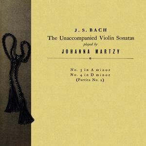 Johann Sebastian Bach Unaccompanied Violin Sonatas Nos. 3 and 4