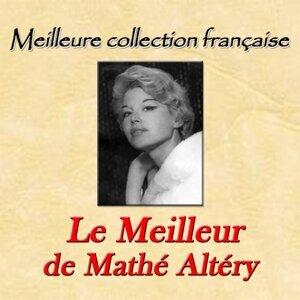 Meilleure collection française: le meilleur de Mathé Altéry