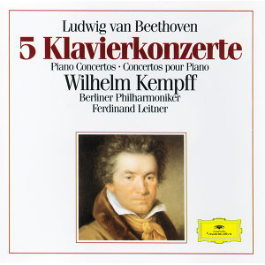 Beethoven: 5 Piano Concertos - 3 CD's