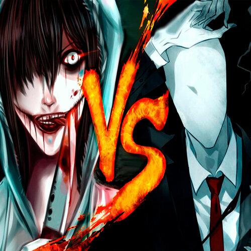 bth games slender man vs jeff the killer batalla de rap アルバム