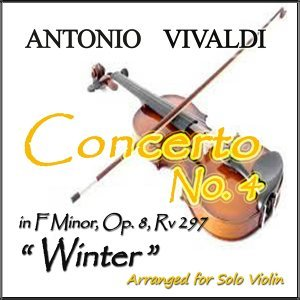 "The Four Seasons, Op. 8, Concerto No. 4 in F Minor, RV 297 ""Winter"": II. Largo - Arranged for Solo Violin"
