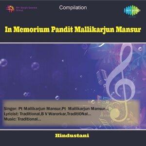In Memorium Pandit Mallikarjun Mansur