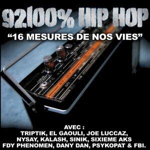 16 mesures de nos vies - 92100% Hip Hop