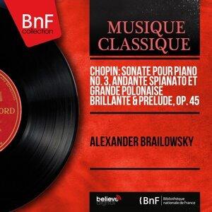 Chopin: Sonate pour piano No. 3, Andante spianato et Grande polonaise brillante & Prélude, Op. 45 - Mono Version