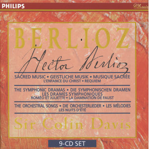 Berlioz: Sacred Music, Symphonic Dramas & Orchestral Songs - 9 CDs