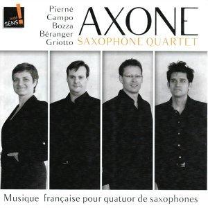 Musique française pour quatuor de saxophones
