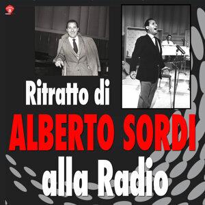 Ritratto di Alberto Sordi alla Radio