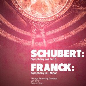 Schubert: Symphony Nos. 5 & 8 - Franck: Symphony in D Minor