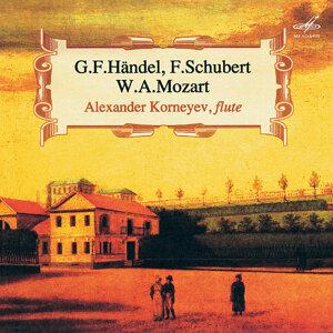 Handel, Schubert & Mozart: Works