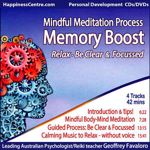 Memory Boost, Mindful Meditation Process