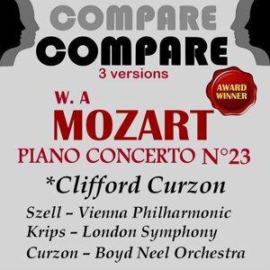 Mozart: Piano Concerto No. 23, Clifford Curzon - Compare 3 Versions
