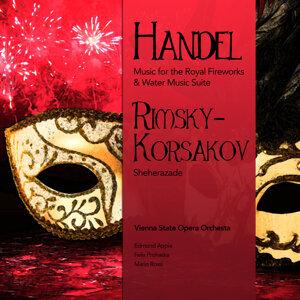 Handel: Music for the Royal Fireworks & Water Music Suite - Rimsky-Korsakov: Sheherazade