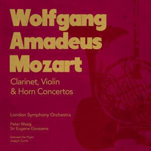 Wolfgang Amadeus Mozart: Clarinet, Violin & Horn Concertos
