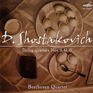 Shostakovich: String Quartets Nos. 11, 12 & 13