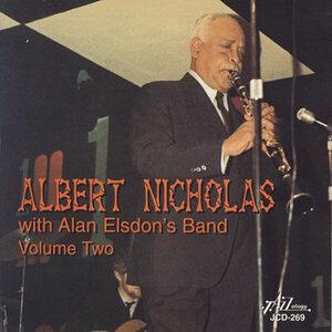 Albert Nicholas with Alan Elsdon's Band, Vol. 2