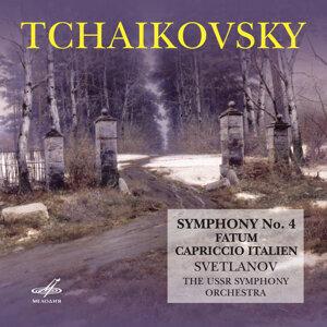Tchaikovsky: Symphony No. 4, Fatum & Italian Capriccio