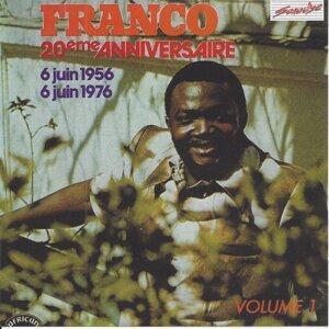 Franco 20e anniversaire, vol. 1 - 6 juin 1956 - 6 juin 1976