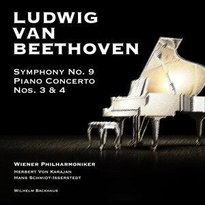Ludwig Van Beethoven: Symphony No. 9 - Piano Concerto Nos. 3 & 4
