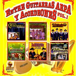 Entre Guitarras Arpa y Acordeones, Vol .1