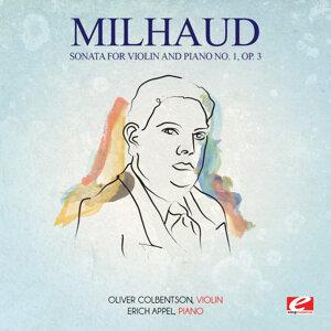 Milhaud: Sonata for Violin and Piano No. 1, Op. 3 (Digitally Remastered)
