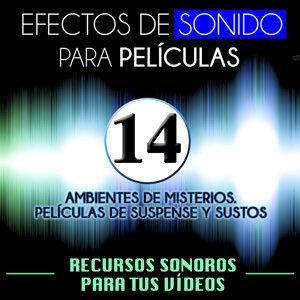 Efectos de Sonido para Peliculas. Recursos Sonoros para Tus Videos Vol 14. Ambientes de Misterio, Películas de Suspense y Sustos