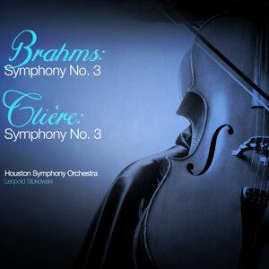 Brahms: Symphony No. 3 - Glière: Symphony No.3
