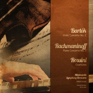 Bartók: Violin Concerto No. 2 - Rachmaninoff: Piano Concerto No. 2 - Rossini: Overtures