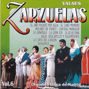 Zarzuelas Vol. 6: Valses