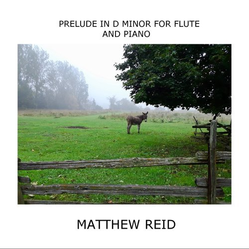 Prelude in D Minor for Flute and Piano