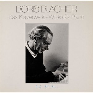 Blacher: Das Klavierwerk