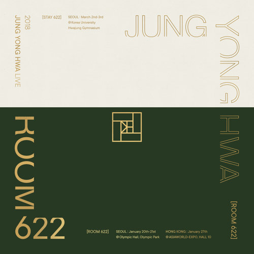 2018 JUNG YONG HWA LIVE 'ROOM 622' - Live