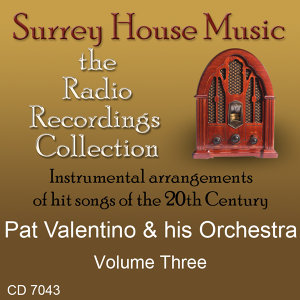 Pat Valentino & His Orchestra, Vol. 3