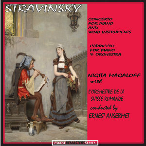 Stravinsky: Concerto for Piano and Wind Instruments - Capriccio for Piano and Orchestra (Remastered)