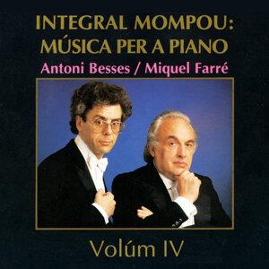 Integral Mompou: Música per a Piano - Vol. IV