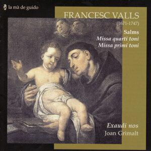 Francesc Valls: Salms / Misses